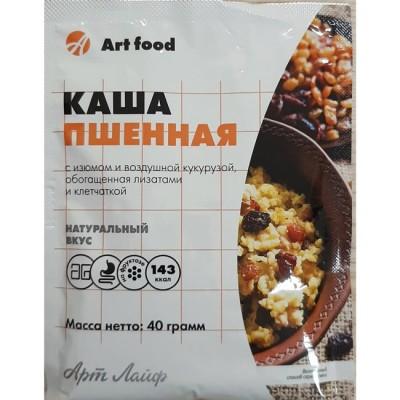 Каша Пшенная с изюмом и воздушной кукурузой, пакет 40 г
