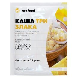 Каша Три злака с ананасом, пакет 38 г