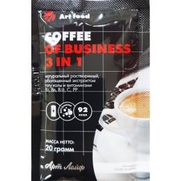 Кофе Business 3 in 1, пакет 20 г