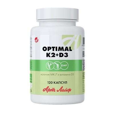 Optimal K2+D3, 120 капс