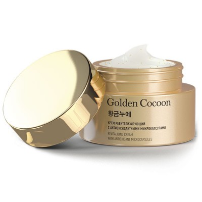 Крем для лица ревитализирующий «Golden Cocoon», 50 мл
