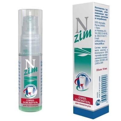 Спрей - освежитель для полости рта N-zim, 10мл