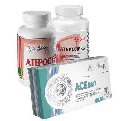 Программа Арт Лайф при атеросклерозе и высоком холестерине