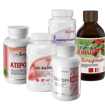Программа Арт Лайф при гипертонической болезни 2-3 степени