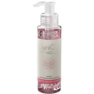 Пилинг для лица с фруктовыми кислотами UniQ